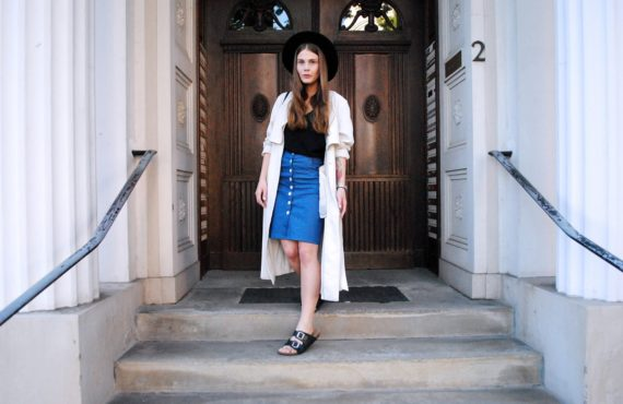 FASHION // THE SUMMER TRENCH